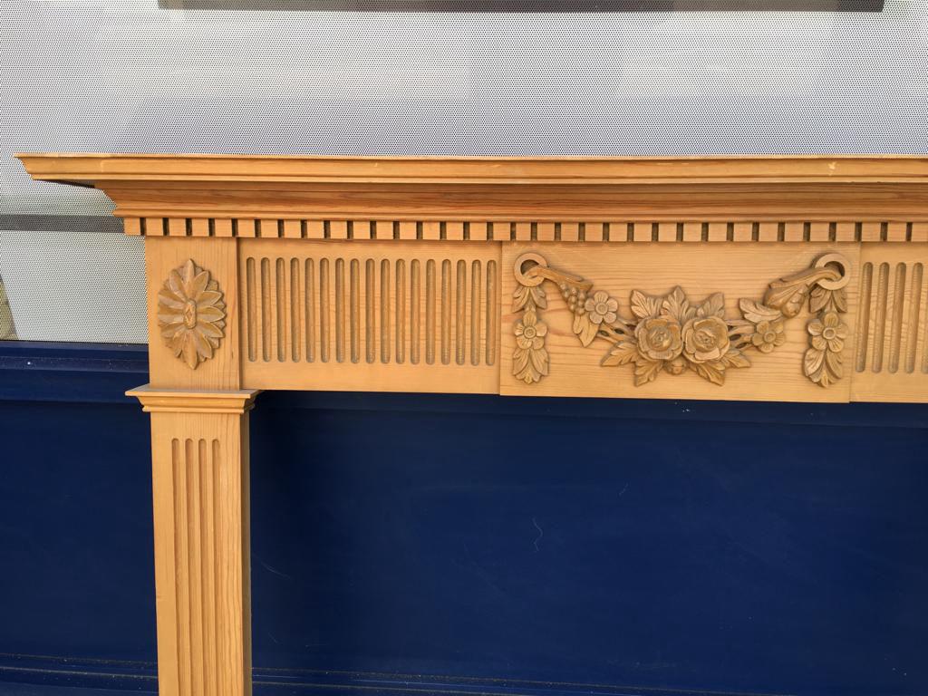 GX-20005 - Wooden Mantlepiece