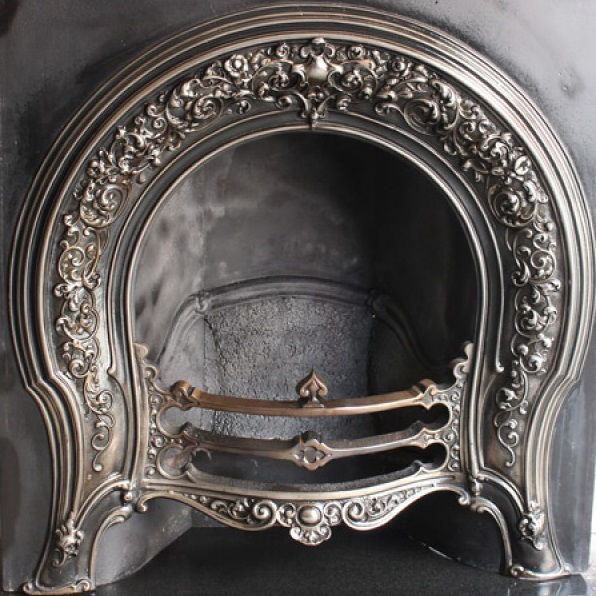 GX-60001 - Victorian Cast Iron Arched Insert