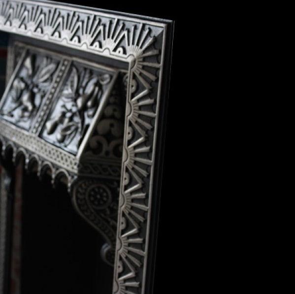 GX-80003- Victorian Cast Iron Tiled Insert
