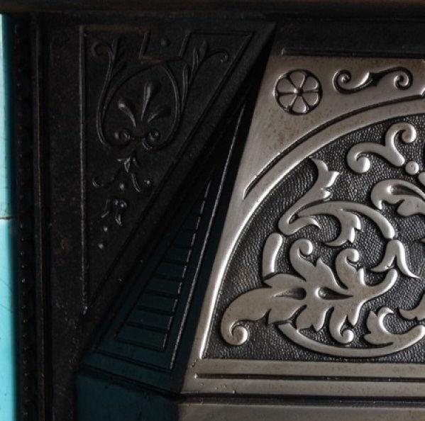 GX-80004 - Victorian Cast Iron Tiled Insert