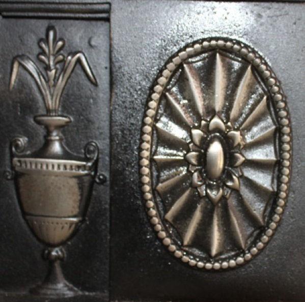 GX-90001 - Victorian Cast Iron Combination