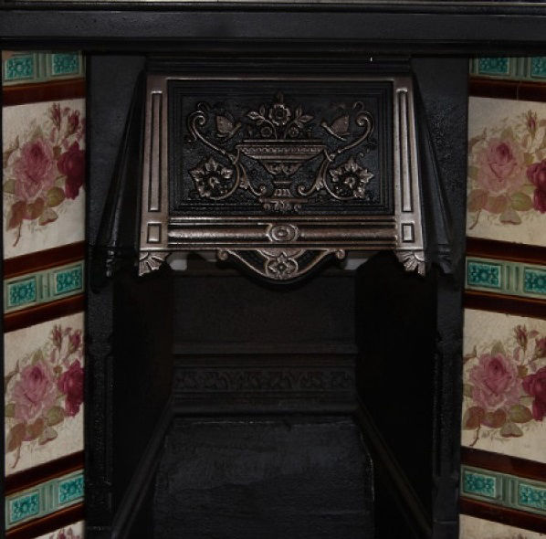 GX-90012 - Victorian Cast Iron Tiled Combination